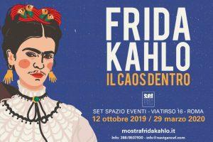 Frida Kahlo, il caos dentro: locandina