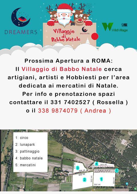 Villaggi Di Natale 2021.Il Villaggio Di Babbo Natale Romacreartigiana Gli Eventi